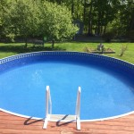 Above Ground Pool Installation By Island Pools & Spa in Verona Island, ME