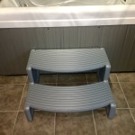 Spa Steps - Stylish Design and Strong Construction