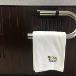 TowelBar - The Smart, Convenient Way To Keep Towels Close, Clean and Dry