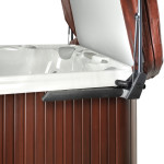 CoverMate 111 - The Perfect Answer When Clearance Behind The Spa Is An Issue. This Lift Has Hydraulic Assist.