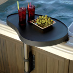 SpaCaddy - A Safe Place For Cell Phones, Beverages and More