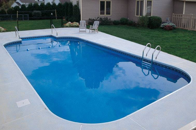 Do it yourself in ground pool kits island pool spa for Inground swimming pool kits