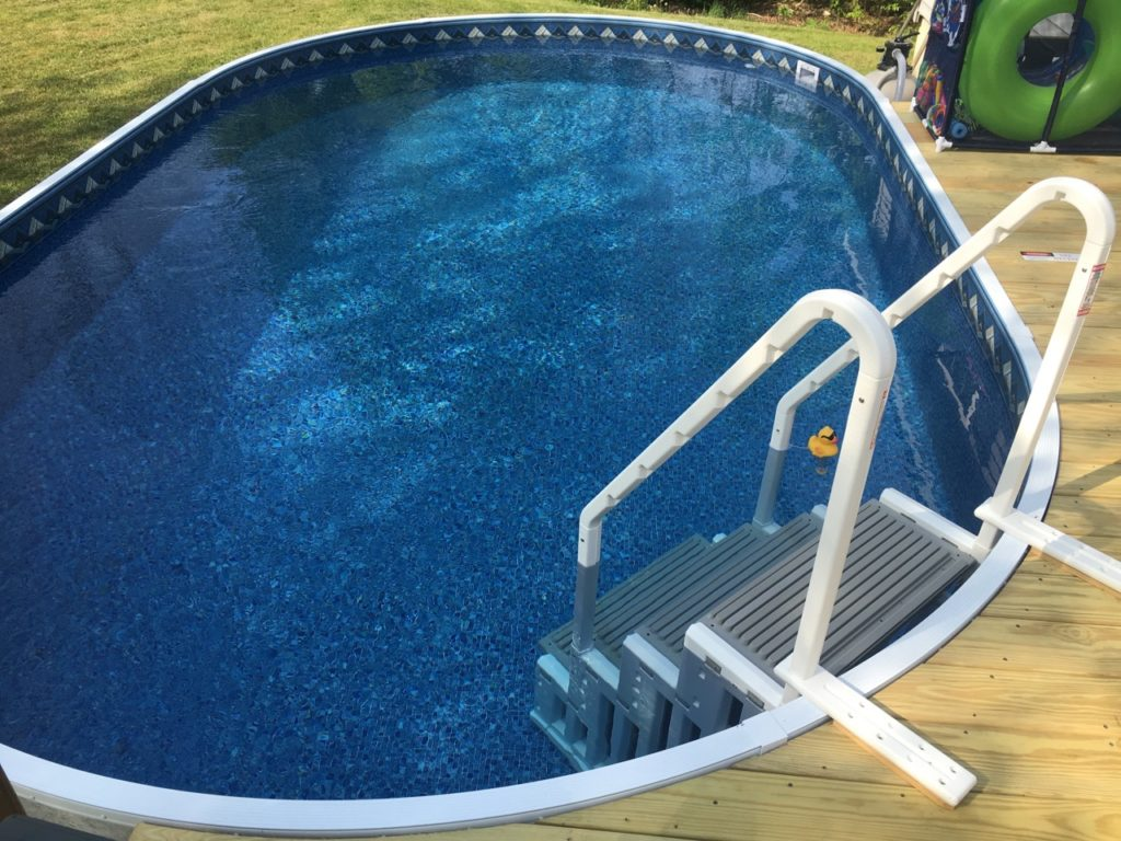 What you need to know about radiant pools island pool spa for Installing pool liner in cold weather